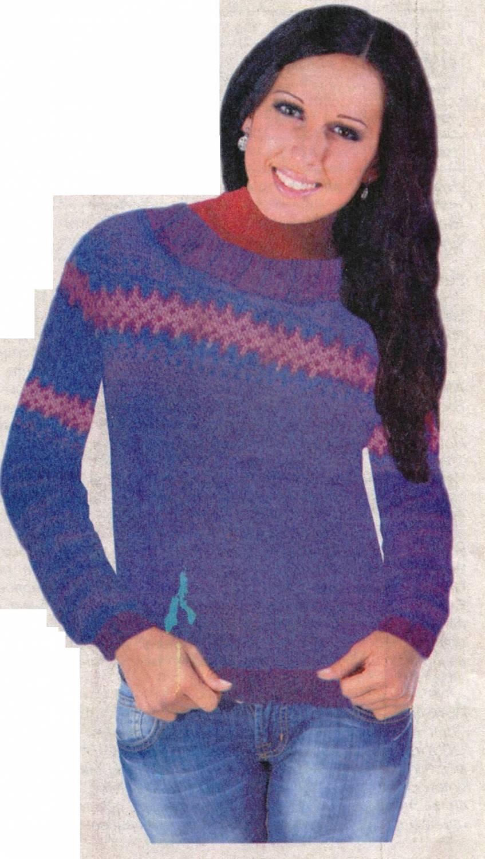 джемпер с узором модель спицами 2014 года свитера джемперы