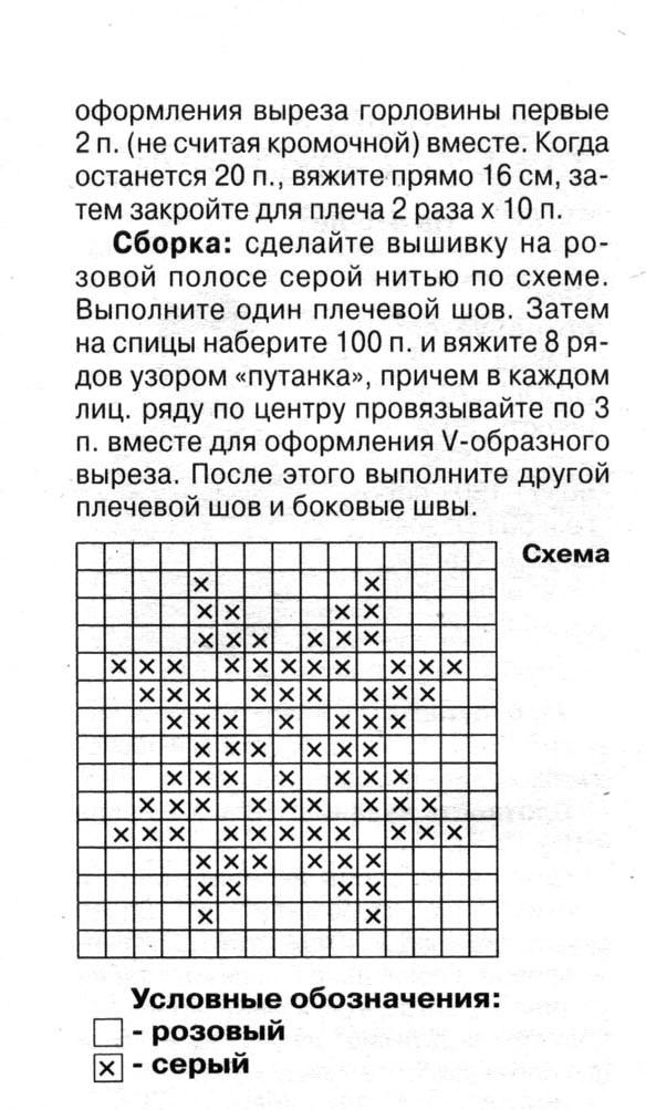 Схемы для вязания спицами для мальчиков 4-5